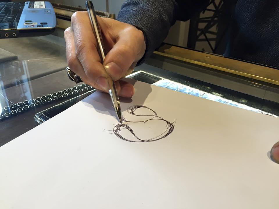 Fabio Lissi disegna un nuovo pendente