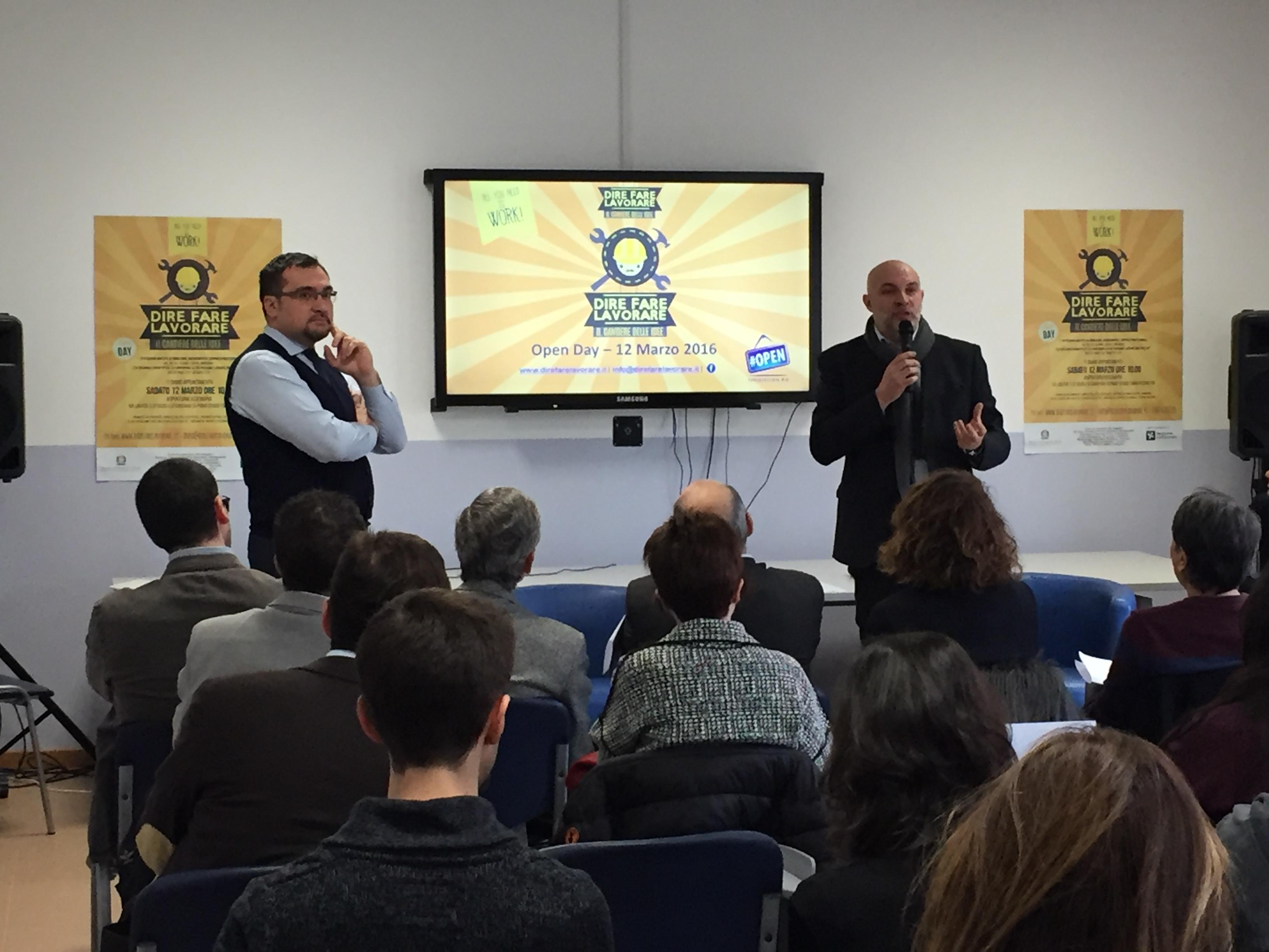 Evento di presentazione del progetto