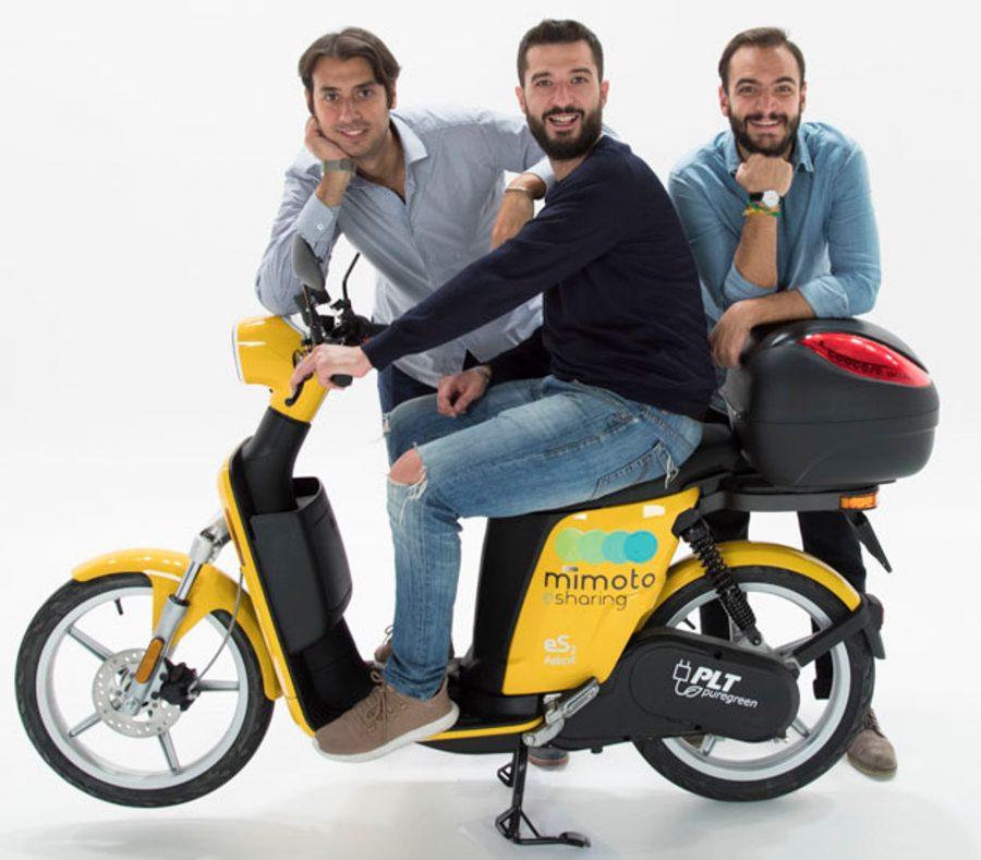 MIMOTO, i fondatori Alessandro, Gianluca e Vittorio